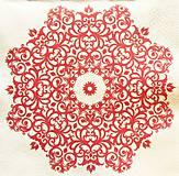 Papier - S1411 - Servítky - folk, folklórny, ľudový, mandala - 10543244_