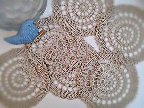 Úžitkový textil - Prestieranie Natur - 10544981_