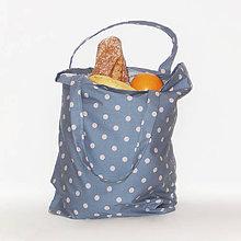 Nákupné tašky - Nákupná taška - Trendy bodkovaná - 10543509_