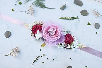 Opasky - Kvetinový opasok - 10544984_