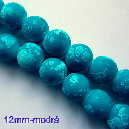 Skl.galactic pogumované-1ks (12mm-modrá)