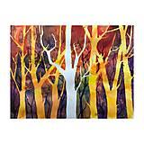 Obrazy - Farebnym lesom - 10544223_