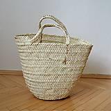 Košíky - Nature - Pletený palmový kôš - 10544451_