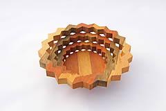 Nádoby - Drevená miska 15cm - 10545228_