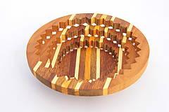 Nádoby - Drevená miska 15cm - 10545248_
