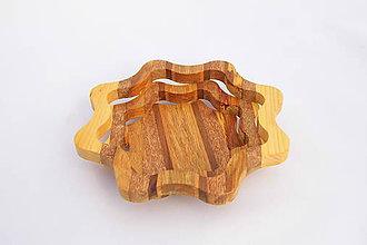 Nádoby - Drevená miska 16cm - 10545213_