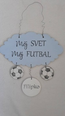 Dekorácie - Môj svet, môj futbal - 10544166_