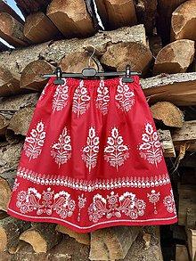 Sukne - Folklórna sukňa - Monika - 10543795_