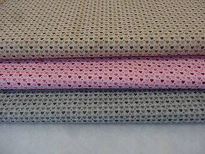 Textil - Mini srdiečka - 10545405_
