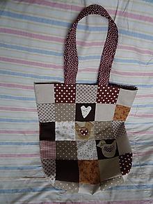 Nákupné tašky - taška hnedá - 10545509_