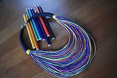 Náhrdelníky - Eko náhrdelník - mix I. - 10543658_