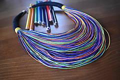 Náhrdelníky - Eko náhrdelník - mix I. - 10543659_