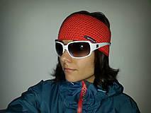 Čiapky - Merino čelenka podšitá úpletom - jednofarebná - 10543324_