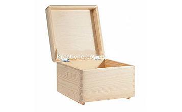 Polotovary - Drevený box 30x30cm - 10544780_