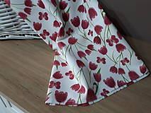 Úžitkový textil - Jarná sada tulipán - 10547256_