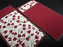 Úžitkový textil - Jarná sada tulipán (Prestieranie) - 10547263_