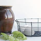 Košíky - košík vyrobený tradične - 10547013_