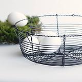 Košíky - košík vyrobený tradične - 10547026_