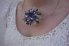 Náhrdelníky - Kvetinový náhrdelník - 10546999_