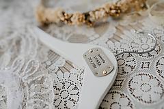 Nábytok - Sada svadobných vešiakov - 10548631_