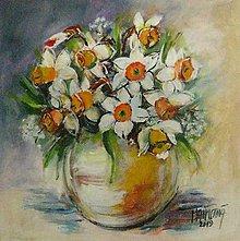 Obrazy - Narcisy - 10545735_