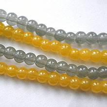 Korálky - Candy Jade Beads™-4mm-30ks - 10548305_