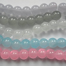 Korálky - Candy Jade Beads™-8mm-10ks - 10548308_
