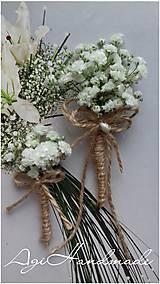 Pierka - svadobné pierko - gypsophila (pierko malé) - 10549103_