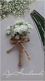 Pierka - svadobné pierko - gypsophila (pierko malé) - 10549104_