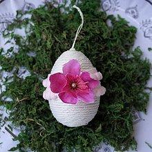 Dekorácie - Veľkonočné vajko *22 - 10548741_