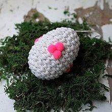 Dekorácie - Veľkonočné vajko *24 - 10548804_