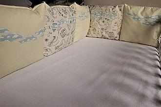 Textil - Mantinel do postieľky Nr.706 - 10548246_