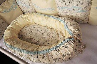 Textil - Hniezdo pre bábätko Nr.625 - 10548280_