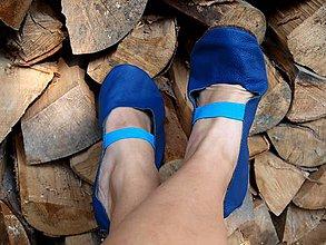 Obuv - Elegantné čierne (Modrá) - 10545750_