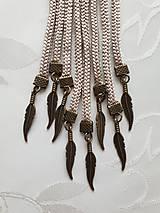 Náhrdelníky - Uzlový náhrdelník s príveskom - 10548022_