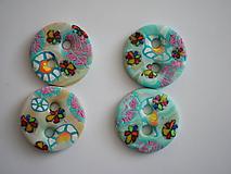 Materiál ručne robený - sada gombíkov - 10546835_