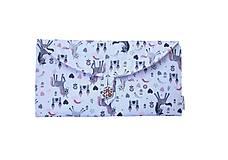 Detské tašky - Kabelka na sponky / Sponkovník - 10546801_