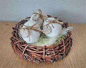 Dekorácie - veľkonočná dekorácia s vajíčkami - 10549125_