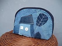 Taštičky - taštička riflový domček - 10547099_