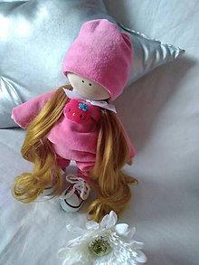 Hračky - Textil doll pyžamová party - 10548931_