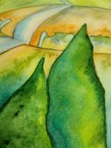 Obrazy - Jar v dedinke / Spring village - Originál - 10546531_