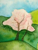 Obrazy - Jar v dedinke / Spring village - Originál - 10546534_