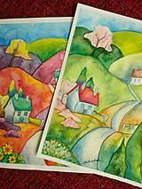 Obrazy - Jar v dedinke / Spring village - Originál - 10546538_