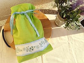 Úžitkový textil - Vrecúško na Veľkú Noc - 10548373_