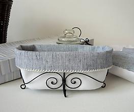 Košíky - Košík vanička - 10548076_
