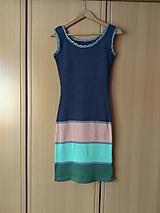 Šaty - Bavlnené šaty Ellie - jednoduché a krásne - 10548385_
