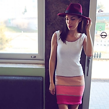 Šaty - Bavlnené šaty Ellie - jednoduché a krásne - 10548367_