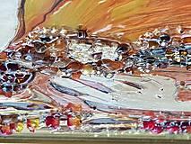 Obrazy - Maľované zrkadlo - 10548462_