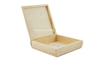 Polotovary - Krabička oblá - 10548200_