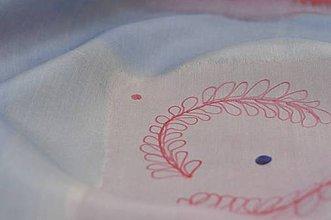Šatky - Hodvábna ručne maľovaná  šatka. - 10550684_